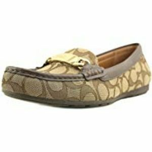 Coach Womens Olive Sand Printed Closed Toe